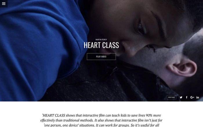 Screenshot of HEART CLASS | UNIT9