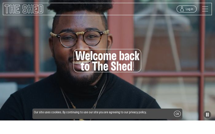 Screenshot of The Shed