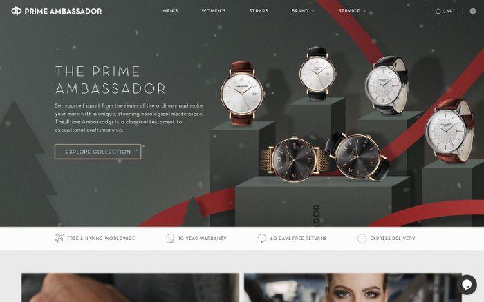 Screenshot of Prime Ambassador - Superior Timepieces