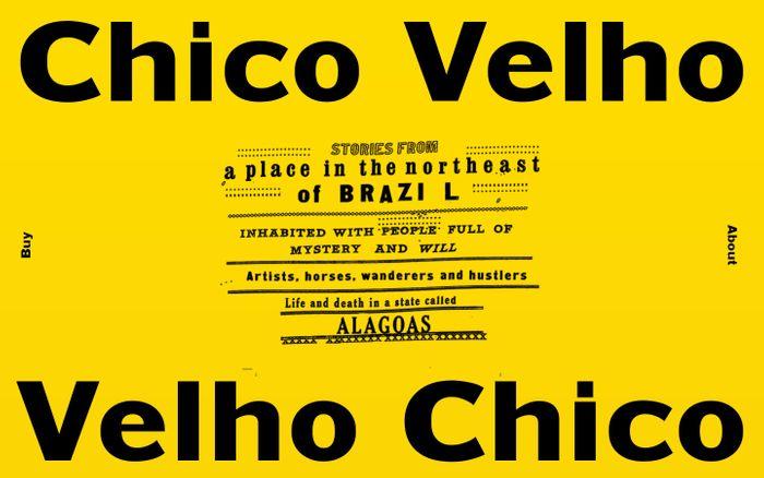 Screenshot of Velho Chico - A Cordel Photobook