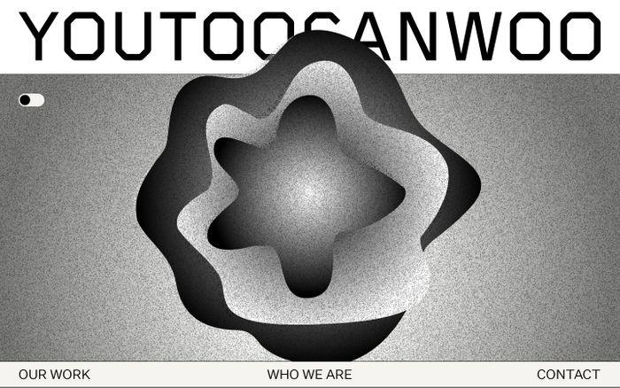 Screenshot of You Too Can Woo website