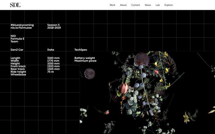 Screenshot of Stockholm Design Lab