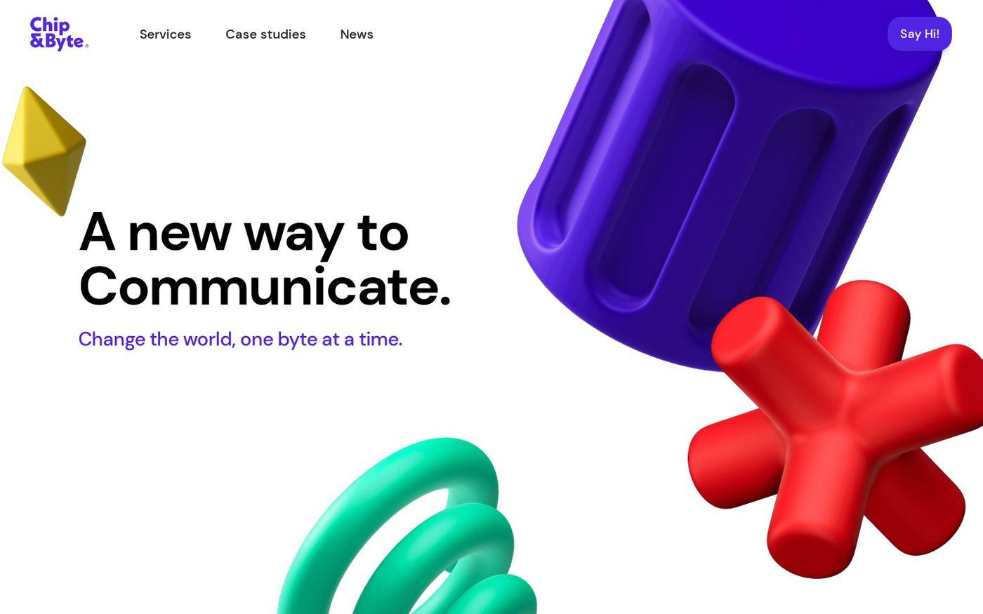 Screenshot of Chip&Byte website