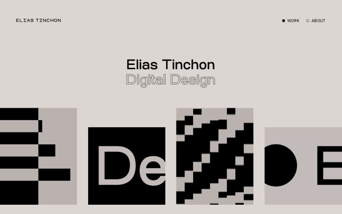 Screenshot of Home – Elias Tinchon