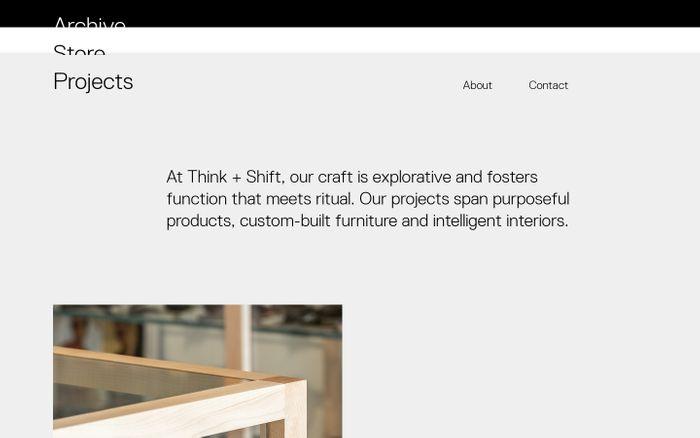 Screenshot of Think and Shift