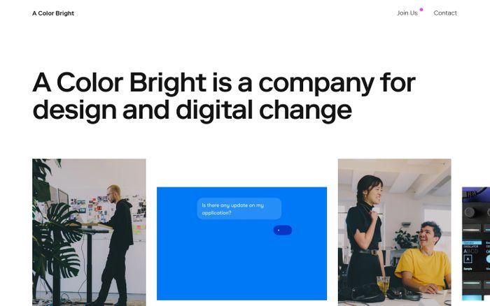 Screenshot of A Color Bright