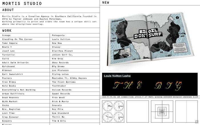 Screenshot of Mortis Studio