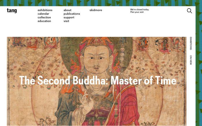 Screenshot of  Tang Teaching Museum