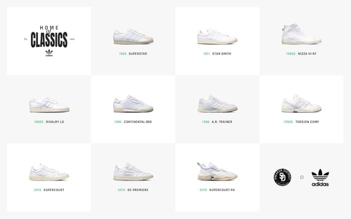 Screenshot of Home of Classics | Sneaker District
