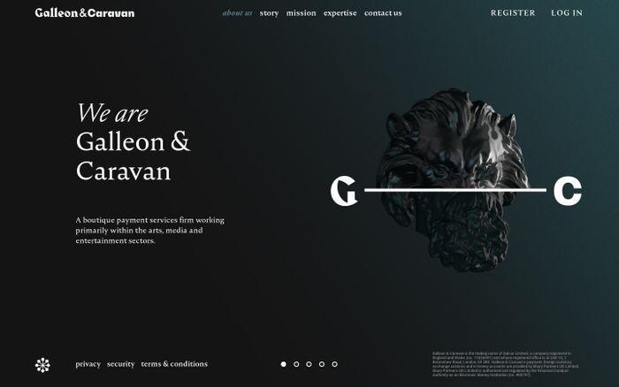 Screenshot of Galleon & Caravan