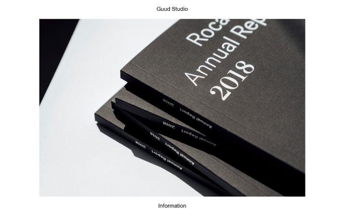 Screenshot of Guud Studio - Graphic design