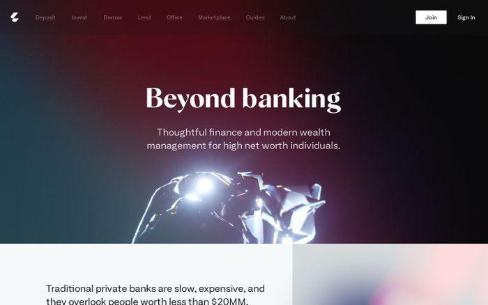 Screenshot of Letter website