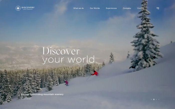 Screenshot of Discovery Land Company