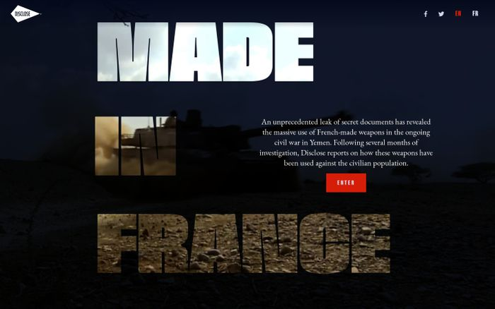 Screenshot of Made in France