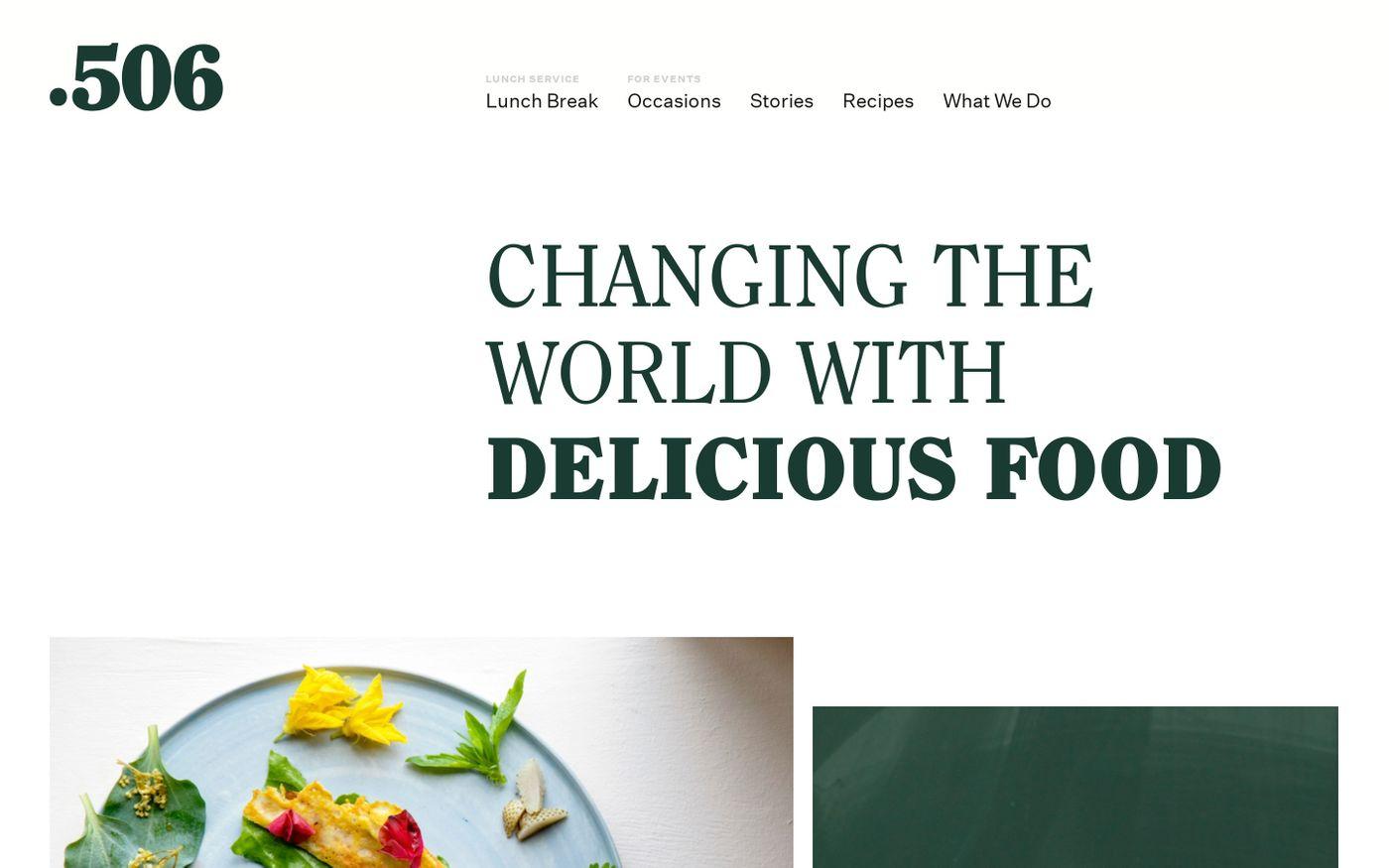 Screenshot of 506 website