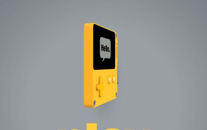 Screenshot of Playdate. A New Handheld Gaming System