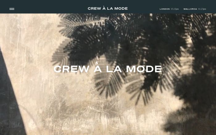 Screenshot of Crew à la mode