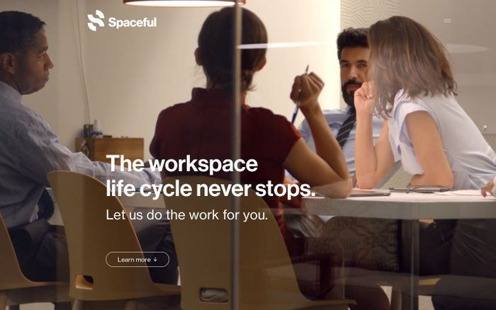 Screenshot of Spaceful | The workspace life cycle never stops.