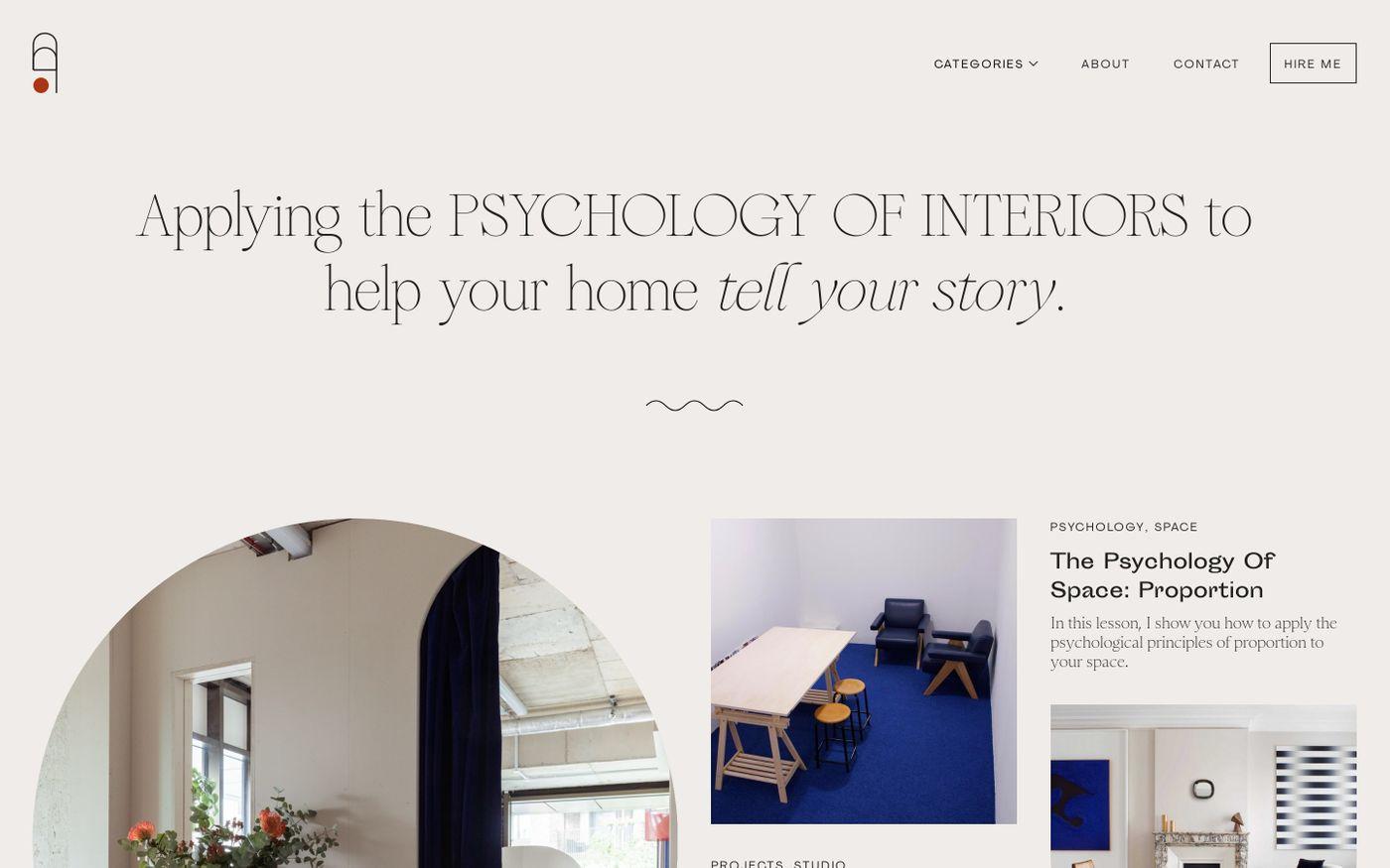 Screenshot of Atelier Akuko website