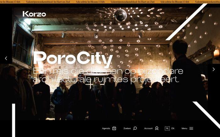 Screenshot of  Korzo - Here to move you