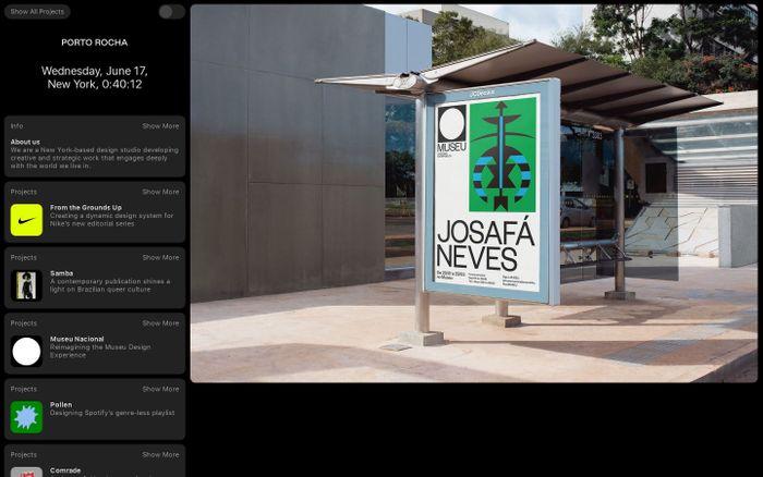 Screenshot of  Porto Rocha