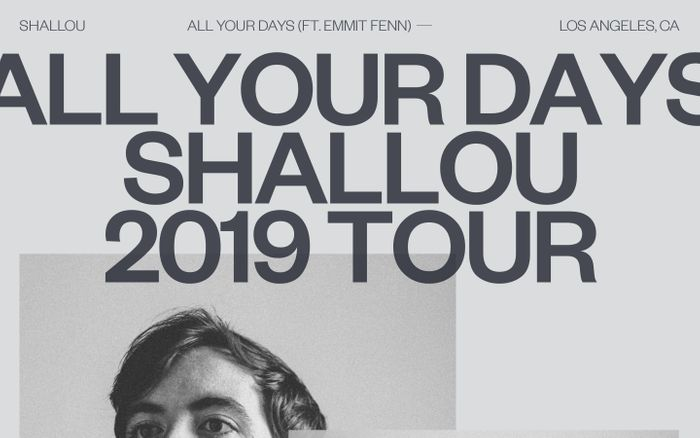 Screenshot of All Your Days website