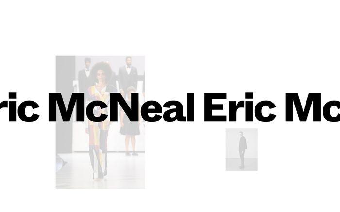 Screenshot of Eric McNeal website