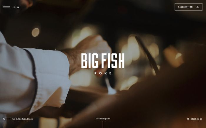 Screenshot of Big Fish Poke