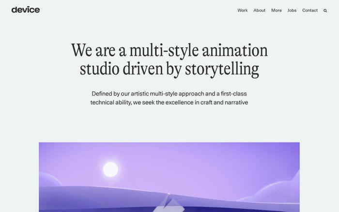 Screenshot of Devicers website