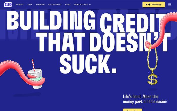 Screenshot of Cleo website
