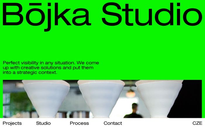 Screenshot of Bōjka Studio