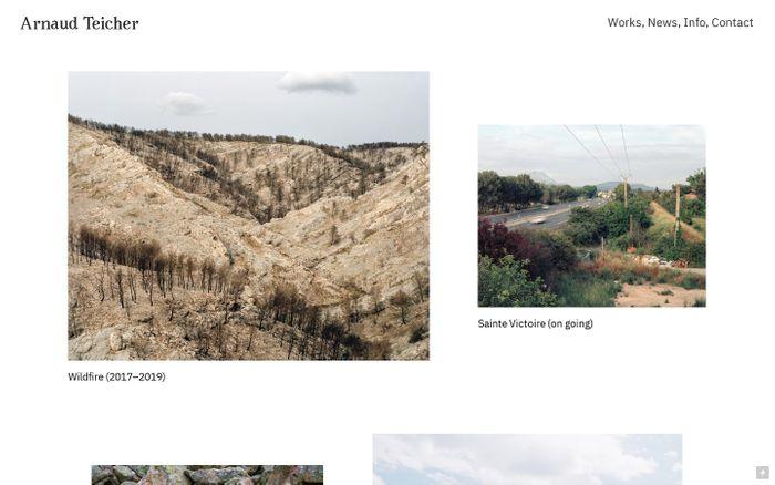 Screenshot of Arnaud Teicher
