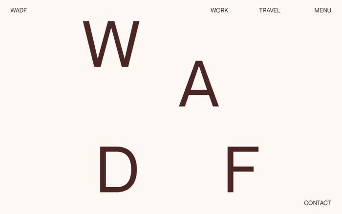 Screenshot of We Are Digital Freelancers website