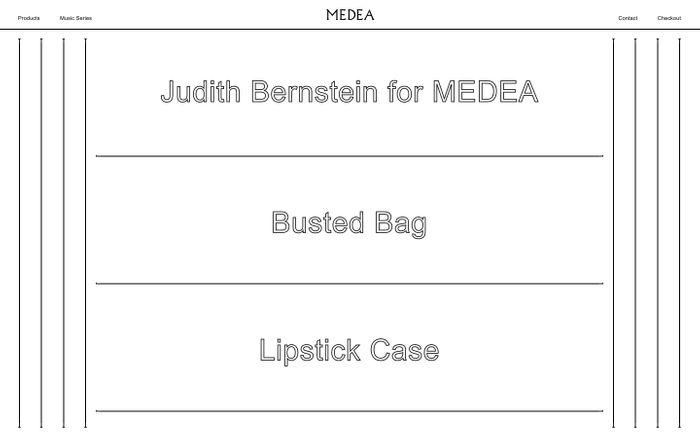 Screenshot of Medea