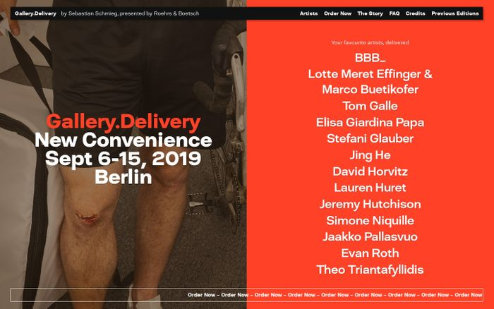 Screenshot of Gallery.Delivery