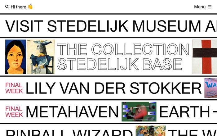 Screenshot of Stedelijk Museum Amsterdam — Stedelijk Museum Amsterdam