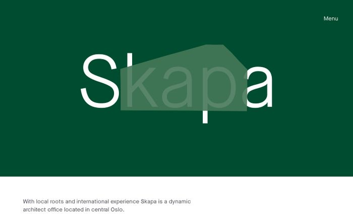 Screenshot of  Skapa