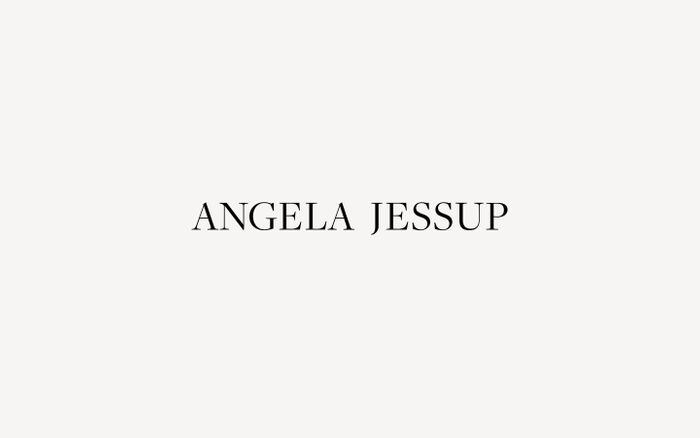 Screenshot of Angela Jessup Yoga website
