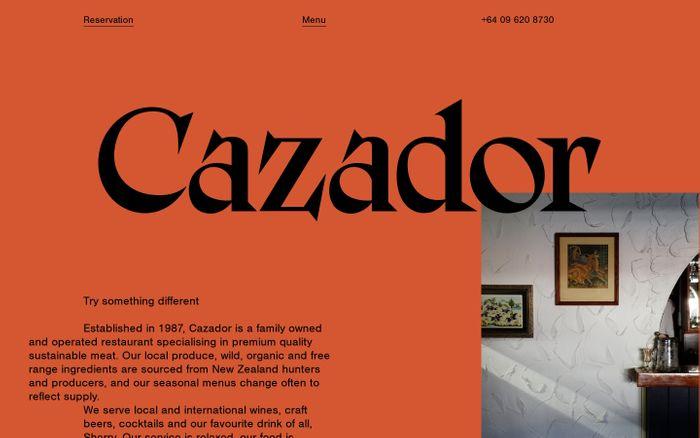Screenshot of Cazador