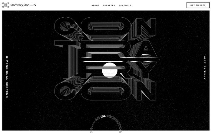 Screenshot of ContraryCon IV