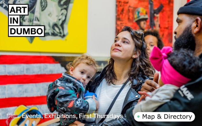 Screenshot of Art In Dumbo website