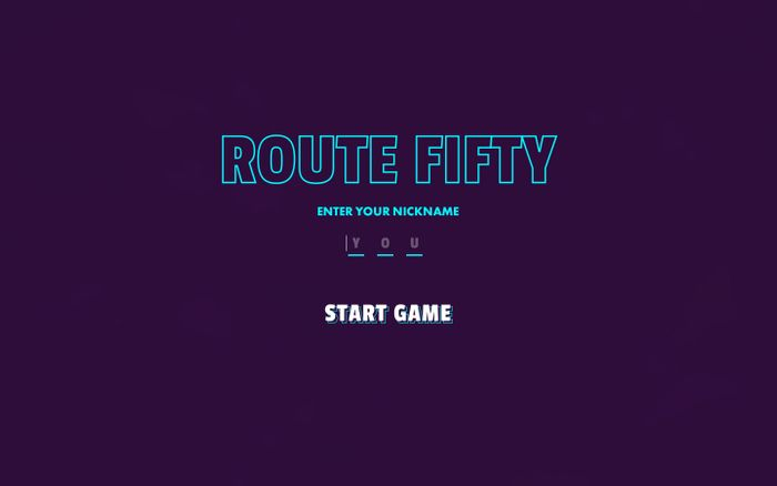 Screenshot of Route Fifty