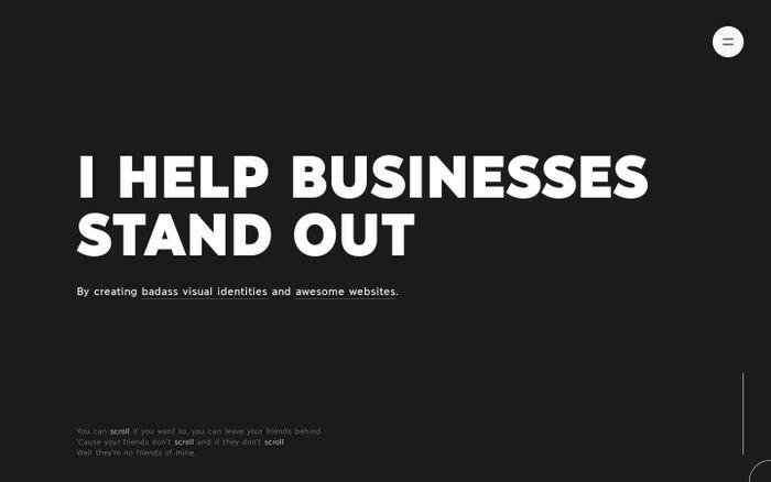 Screenshot of Jomor Design | Branding & Websites | Montreal