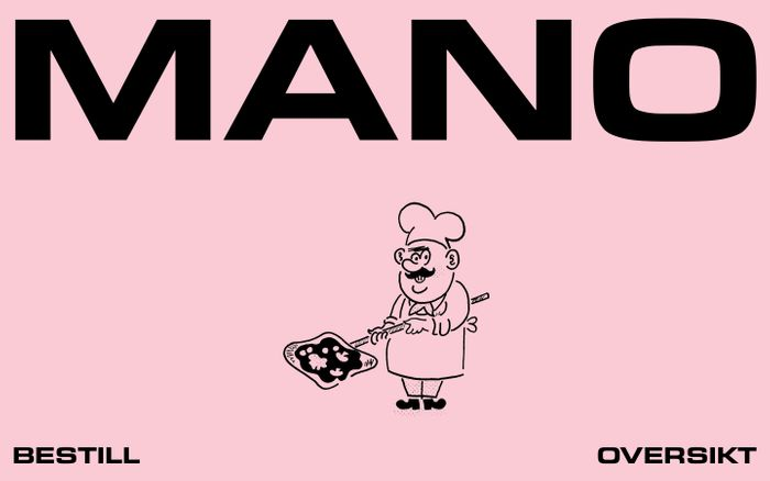 Screenshot of MANO – PIZZA AL METRO