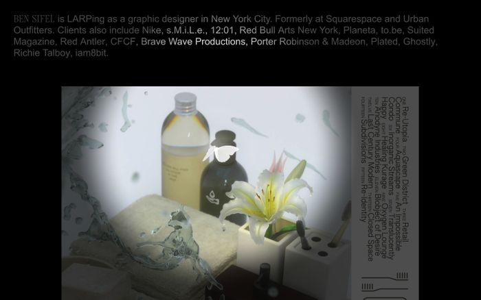 Screenshot of Ben Sifel
