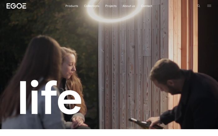 Screenshot of Quality Outdoor Furniture | Egoé life