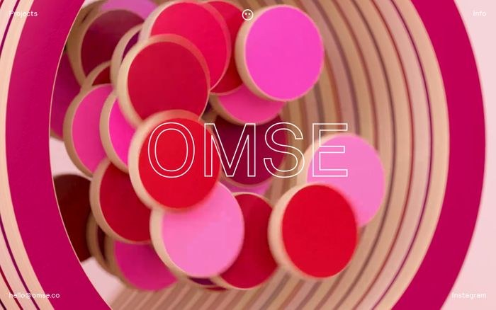 Screenshot of Omse