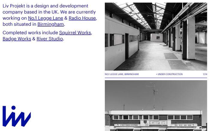 Screenshot of Liv Projekt