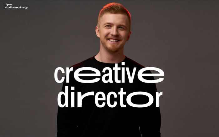 Screenshot of Ilya Kulbachny – Creative Director at Cosmos Studio