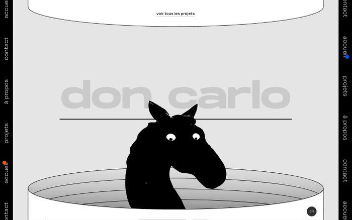 Screenshot of Don Carlo